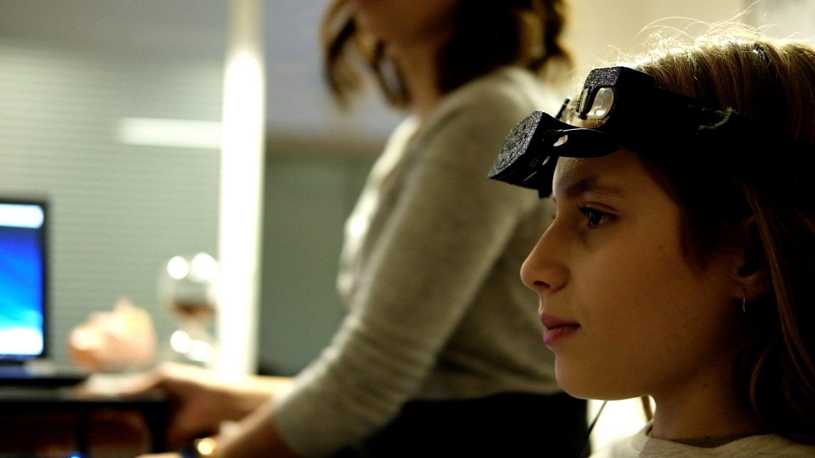 Neurofeedback avec un casque Eeg de relaxation