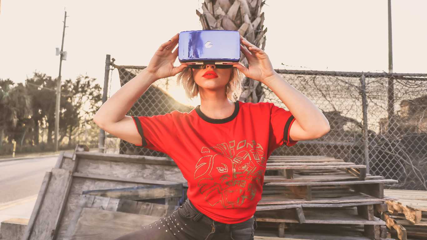 Casque VR pour relaxation