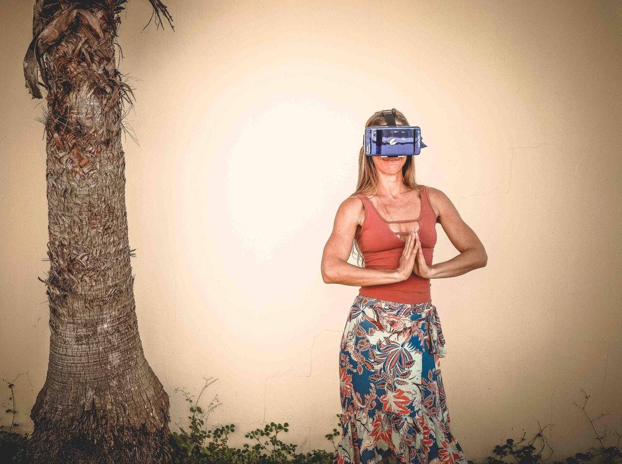 casque réalité virtuelle contre le stress